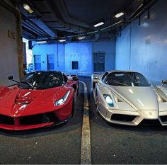 LaFerrari and Enzo