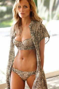 No Ordinary Bikini! Serengeti Sophia Bustier Bikini [Vitamin A} #1Bikini #2014 #Adore