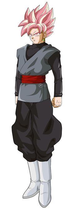 black goku super saiyajin rose by naironkr.deviantart.com on @DeviantArt