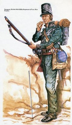 BRITISH ARMY - Sergeant, 95th Rifle Regiment of Foot: