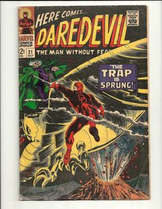 Dare Devil, Man Without A Fear No. 21 - Marvel Comics Group October 1966