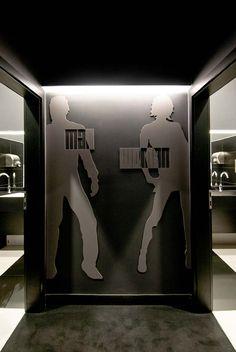 Blackbox by Parasite Studio Environmental Graphics, Area 51, Bathrooms, Studio, Design, Home Decor, Decoration Home, Bathroom, Room Decor