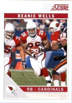 2011 Score Football Card # 2 Chris Wells - Arizona Cardinals - NFL Trading Card In a Protective Screwdown Case! by SCORE. $2.95. 2011 Score Football Card # 2 Chris Wells - Arizona Cardinals - NFL Trading Card In a Protective Screwdown Case!