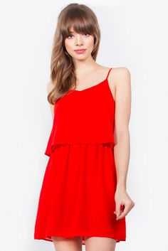 5c42ed0b70 Madeline Dress Madeline dress cross back shift dress – U neck – Sleeveless  Red Slip Dress