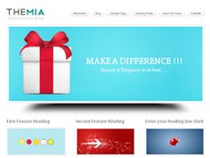 The Themia Theme is light and visually stunning http://www.thebestthemes.com/themia/