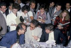 Jack Nicholson Warren Beatty and Donald Trump during Mike Tyson vs Michael Spinks Fight at Trump Plaza June 27 1988 at Trump Plaza in Atlantic City...