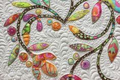 Spring Time Applique Mini Quilt