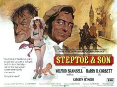 Steptoe and Son is a 1972 British comedy drama film and a spin-off from the popular British television comedy series of the same name about father-and-son ra. British Comedy Movies, Comedy Tv, Old Movie Posters, Cinema Posters, Film Posters, Steptoe And Son, Funny People Quotes, Funny Memes, Film Man