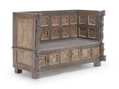 Sitzbank Kavali braun - mit Geheimschubfach :-)