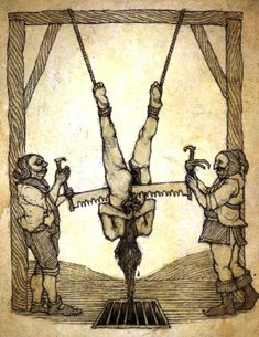 One of the 8 most painful torture devices Of the middle ages used by the Catholic church during the genocide of Christian Cathars