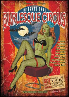 The International Burlesque Circus - Hollands most spectacular burlesque event!