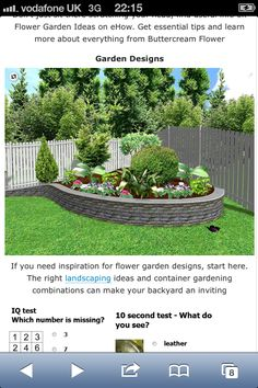 Elegant Corner Landscaping Ideas Small Backyard Landscaping Ideas Corner Garden With Round Bricks - Landscaping can make a huge difference to your house. Small Vegetable Gardens, Small Backyard Gardens, Small Gardens, Small Backyards, Garden Spaces, Outdoor Gardens, Corner Landscaping, Small Backyard Landscaping, Landscaping Ideas