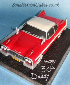 Stephen Kings Christine - Cake by Stef and Carla (Simple Wish Cakes)