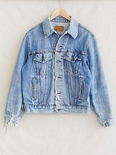Arte in Diretta | Indigo Denim jackets and Vintage levis