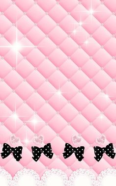 New Wallpaper.By Artist Unknown. iPhone X Wallpaper 398357529535555127 # Bow Wallpaper, Hello Kitty Wallpaper, Glitter Wallpaper, Wallpaper Iphone Cute, Cellphone Wallpaper, Disney Wallpaper, Pattern Wallpaper, Wallpaper Backgrounds, Pretty Wallpapers