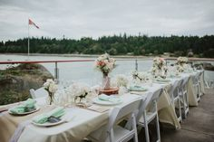 Jacqueline and Andrew's 13 Guest, $6,500 Rustic Waterfront Inn, BC WeddingSee their gorgeous photos by Jacqueline and Andrew Coco Photography  @intimateweddings.com #reception