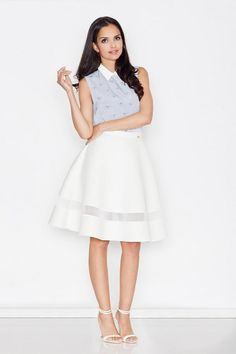 Skirt women's with higher status and length midi
