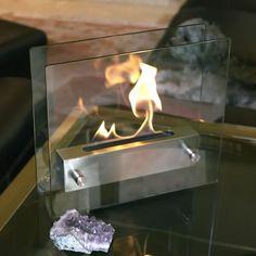 Nu-Flame Irradia Tabletop Portable Decorative Fireplace