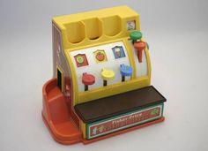 1970's FISHER PRICE Kasse für Spielladen Marktststand usw. in Wetzikon ZH kaufen bei ricardo.ch