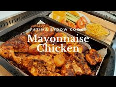 Here is another video for today, my Mayonnaise Chicken is a hit with family and friends. Serve with any sides of your liking. Over Fried Chicken, Baked Chicken Breast, Cooked Chicken Recipes, How To Cook Chicken, Real Food Recipes, Cooking Recipes, Healthy Recipes, Healthy Food, Mayonnaise Chicken