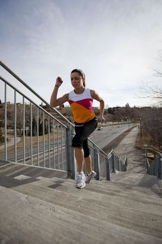 Transform your body one step at a time with this workout: Summer Stairs Challenge.