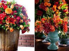 bouquet de noiva laranja flores do campo - Pesquisa do Google