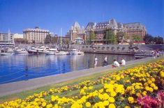 The Inner Harbour (Empress Hotel in background) - Victoria, British Columbia Victoria Vancouver Island, Victoria Island, Victoria Bc Canada, Victoria British Columbia, Rocky Mountains, Calgary, Alaska, Places To Travel, Places To Visit