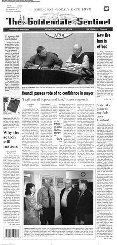 Goldendale Sentinel (Goldendale, Washington) newspaper archive - http://gld.stparchive.com/