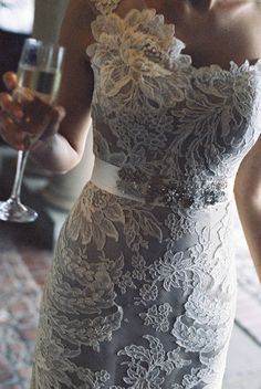 New trends 2013: White Lace Dresses 2013