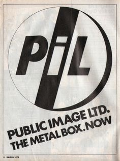 PiL, from Smash Hits.