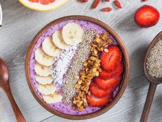 What Is Seed Cycling - Does Seed Cycling Work for Periods, Fertility, and Hormone Balance? Healthy Afternoon Snacks, Healthy Dinner Recipes, Healthy Snacks, Snack Recipes, Dessert Recipes, Acai Smoothie, Smoothie Bowl, Smoothie Recipes, Acai Berry Bowl