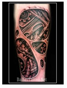 See thru window to internal biomechanical tattoo designs. Girly Tattoos, Simple Arm Tattoos, Elbow Tattoos, Sweet Tattoos, Unique Tattoos, Tattoos For Guys, Cool Tattoos, Mens Tattoos, Amazing Tattoos