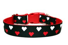 Valentines Day Dog Collar by #Wagologie