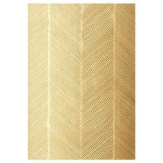 Chevron Texture in White Gold - modern - wallpaper - - by F. Schumacher & Co. found on Polyvore