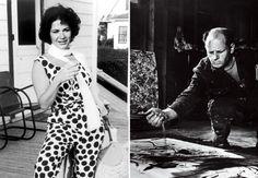 Ruth Kligman - Pollock's lover in 1956