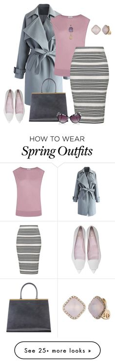 "Everything""outfit 3529"" by natalyag on Polyvore featuring Chicwish, Helmut Lang, Topshop, Anne Klein, Valerie Nahmani Designs and Lipsy"