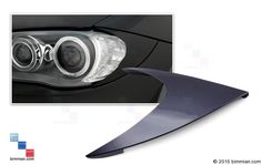 Upgrade To Body Colored Reflectors And Remove The Orange From Your BMW -  - Headlight Reflector Covers  - Photo #1