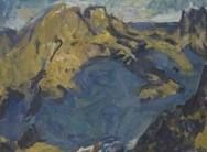 Toss Woollaston Tossed, Abstract Landscape, New Zealand, Painting, Image, Beach House, Landscapes, Artists, Flat