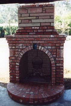 Add keystone in brick to fireplace surround