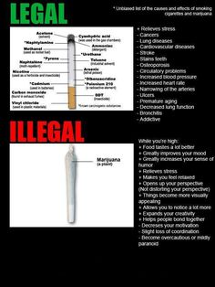 It's so ridiculous we're still fighting to legalize marijuana and deathly cigarettes are still legal for 18 yr olds and up. Planta Cannabis, Rauch Fotografie, Marijuana Facts, Smoking Effects, Increase Blood Pressure, Weed Humor, Stained Teeth, Cardiovascular Disease, Medical Cannabis