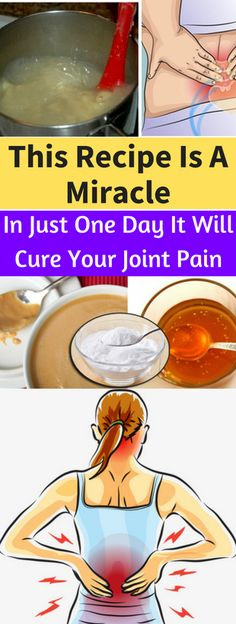 This Recipe Is A Miracle! In Just One Day It Will Cure Your Joint Pain - seeking habit