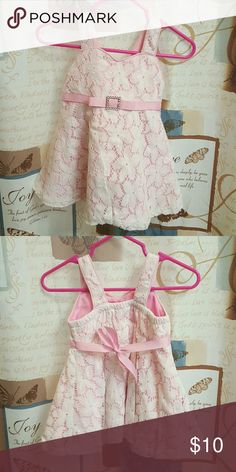 Sweet Heart Rose dress Pink with white lace dress. Sweet Heart Rose Dresses Casual