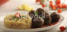 Meatballs with Smokey Eggplant Pulp