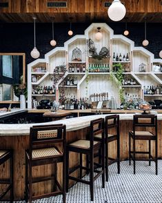 nice 49 Fantastic Home Coffee Bar Design Ideas You May Try Back Bar Design, Coffee Bar Design, Cafe Bar, Cafe Restaurant, Bar Interior, Interior Design, Modern Interior, Sister Bar, Small Restaurant Design