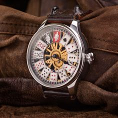 Tavannes watch - Vintage Swiss custom wristwatch for men – Patina Original Mens Skeleton Watch, Custom Leather, Vintage Watches, Accessories, Antique Watches, Vintage Clocks, Jewelry Accessories