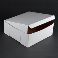 Bakery Boxes | Cake Boxes - WEBstaurant Store 10x10 $24.99/cs 100ct