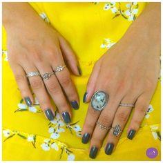 Para quem adora a delicadeza dos anéis! #vemprazas