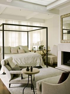 Master Bedroom -    Cordish Townhome » McAlpine Booth & Ferrier Interiors