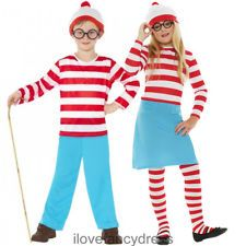 girls character costumes | ... WALLY WENDA FANCY DRESS CHILDS BOOK WEEK CHARACTER COSTUME BOYS GIRLS