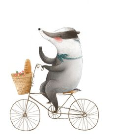 Rosie Butcher Illustration : Photo significant otter Art And Illustration, Badger Illustration, Art Illustrations, Childrens Books, Character Design, Art Prints, Drawings, Photos, Pictures